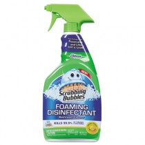 Foaming Disinfectant Bathroom Cleaner, Citrus Scent, 32 oz Spray Bottle