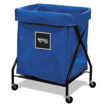 "X-Frame Cart, Collapsible, 150 lb Capacity, Blue, 21"" x 26"" x 36"""