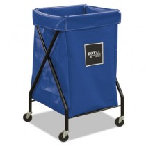 "X-Frame Cart, Collapsible, 150 lb Capacity, Blue, 20"" x 22"" x 36"""