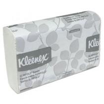 KLEENEX SLIMFOLD Hand Towels, White