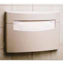MatrixSeries Toilet Seat Cover Dispenser,16 1/8x2 1/2x11 1/2, Gray, ABS Plastic