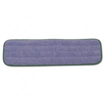"""Microfiber Wet Mopping Pad, 18"""", Green"""