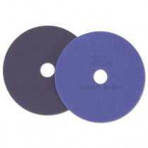 Diamond Floor Pads. 17-Inch, Purple