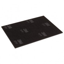 Scotch-Brite Surface Preparation Pad, 12 in x 18 in, Black/Gray