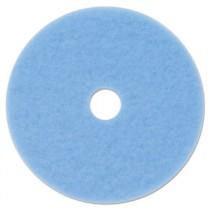 "Sky Blue Hi-Performance Burnish Pad 3050, 19"" dia"