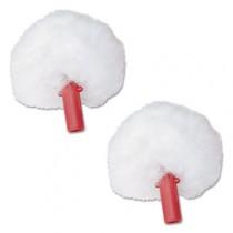 ErgoToilet Bowl Brush Replacement Swab Head, White, 2/Pack