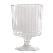 Classic Crystal Stemware, 8 oz, Cold, Clear, Pedestal Wine Glass