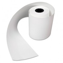 "Heat Sensitive Register Rolls, 2 1/4"" x 200 ft, 1 Ply, White"