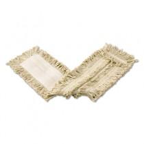 Cut-End Cotton Disposable Dust Mop, White, 36 x 5