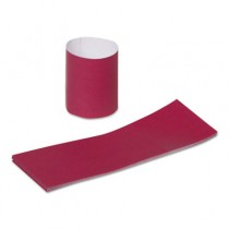 Napkin Bands, Burgundy, 2000/Pack