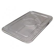 FS Foil-Lam Food Container Lids, White/Aluminum, 20 3/4w x 12 3/4d