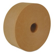 """Reinforced Water-Activated Tape, 2.83"""" x 450', Natural"""