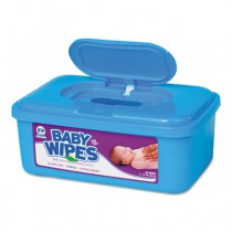 Baby Wipes Tub, Scented, White, 80/Tub
