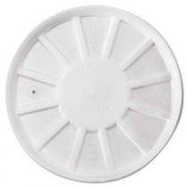 Vented Foam Lids, Fits 8-44oz Cups, White