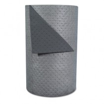 "High-Traffic Series Sorbent-Pad Roll, 63gal, 30"" x 300ft, Gray"