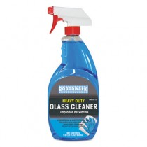 Glass Cleaner with Ammonia, 32 oz Spray Bottle