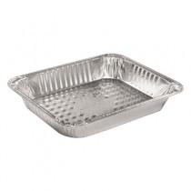 "Aluminum Steam Table Pans, Half-Size, Medium, 2.188"" H"
