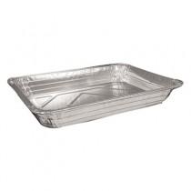 "Aluminum Roasting/Baking Containers, 168 oz, 2 1/8"" Deep"