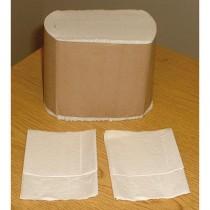 Low-Fold Dispenser Napkins, 1-Ply, 9 x 12, White