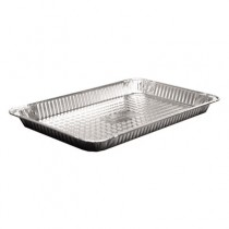 Aluminum Steam Table Pans, Full-Size Shallow Pan