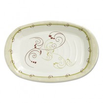 Paper Platter, Medium-Weight, 8x6, Symphony Design, 125/Pack