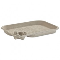 StrongHolder Molded Fiber Cup/Food Tray, 8-22oz, One Cup