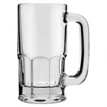 Classic Beer Mug, Glass, 12 oz, Clear