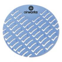 Airworks Deodorizing Urinal Screen, Eucalyptus, Light Blue