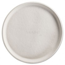 "Savaday Molded Fiber Pizza Circle, Beige, 10"" Diameter"
