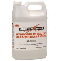 Lightning Blend Hydrogen Peroxide Cleaner/Degreaser, Citrus Scent, 1 gal Bottle