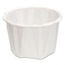 Paper Portion Cups, 1.25 oz., White