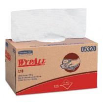 WYPALL X70 Wipers, Quarterfold, 12 1/2 x 23 1/2, White, 300/Box