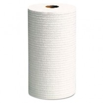 WYPALL X60 Wipers, Small Roll, 19 3/5 x 13 2/5, White, 130/Roll