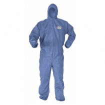 KLEENGUARD A60 Bloodborne Pathogen Protection Apparel, 4X-Large, Blue