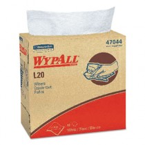 WYPALL L20 Wipers, POP-UP Box, Four-Ply, 9 1/10 x 16 4/5, White, 88/Box