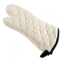 "Heavy Terry Oven Mitt, 17"", Natural Color, One Size Fits All"