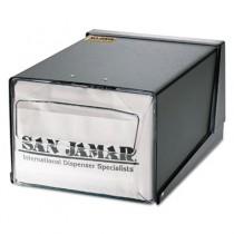 Countertop Napkin Dispenser, 7-5/8 x 11 x 5-1/2, Capacity: 300 Napkins, Black