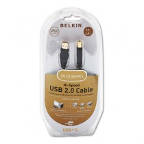 Gold Series High-Speed USB 2.0 Cable, 16 ft.