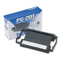 PC201 Thermal Ribbon Cartridge, Black