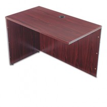 BL Series Return Shell, 42-1/4w x 24d x 29h, Mahogany