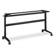 Folding-Top Table Base, 24w x 28-3/8h, Matte Black