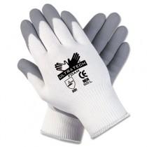 Ultra Tech Foam Seamless Nylon Knit Gloves, Extra Large, White/Gray