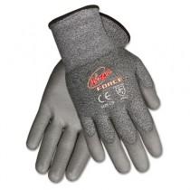 Ninja Force Polyurethane Coated Gloves, Small, Gray