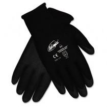 Ninja HPT PVC coated Nylon Gloves, Medium, Black