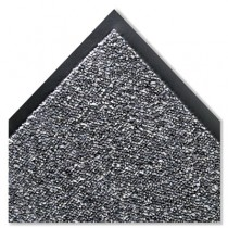 Cordless Stat-Zap Carpet Top Mat, Polypropylene, 36 x 60, Pewter
