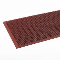Safewalk-Light Heavy-Duty Antifatigue Mat, Rubber, 36 x 60, Terra Cotta