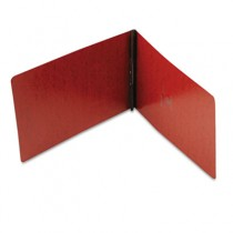 """PressGuard Coated Report Cover, Prong Clip, Legal, 2"""" Capacity, Red"""