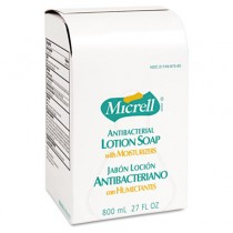 MICRELL Antibacterial Lotion Soap Refill, Unscented Liquid, 800ml