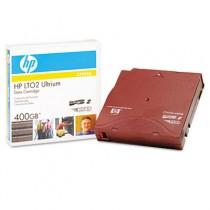 """1/2"""" Ultrium LTO 2 Cartridge, 1998ft, 200GB Native/400GB Compressed Capacity"""