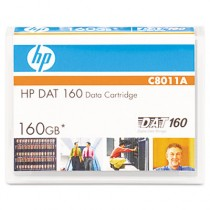 8 mm DAT 160 Cartridge, 150m, 80GB Native/160GB Compressed Capacity